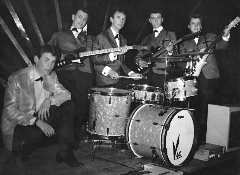 The Tremors with Vox AC30s in 1961