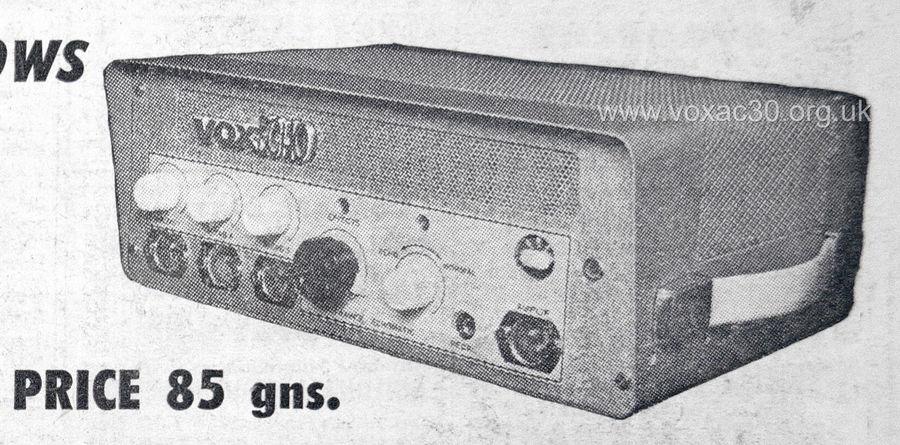 Vox Meazzi Echomatic, version 2, March 1961