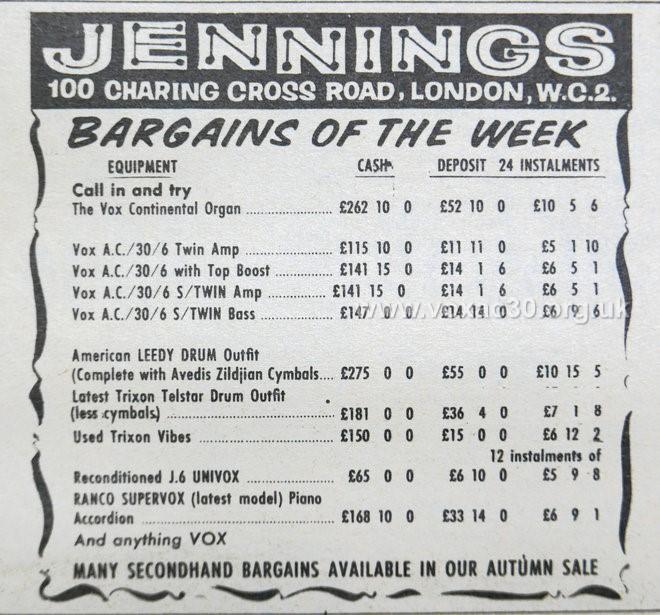 Melody Maker, 19th October, 1963