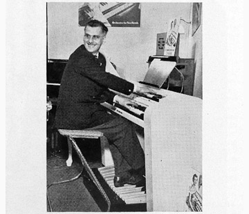 Jennings Organ Company - 1954, the J51