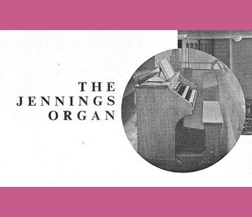 Jennings Organ Company - 1957, Church Organs