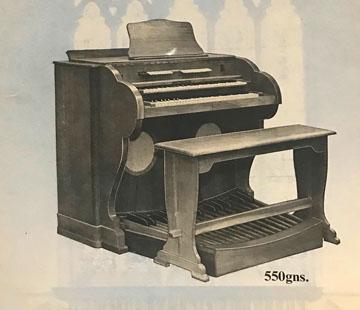 Jennings Organ Company, Church Organs, 1959