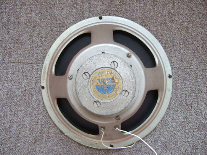 Celestion T3757 - hammertone/oyster finish - 1960