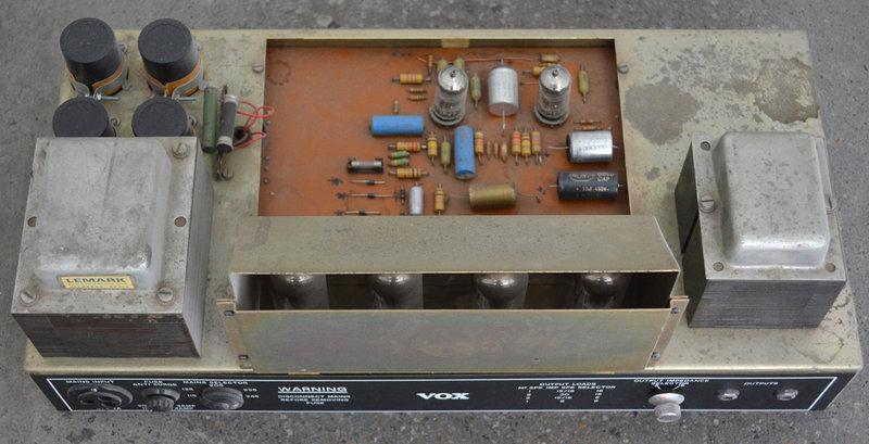 Vox V100, Vox Sound Limited, Birch-Stolec factory, 1971