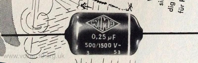 WIMA Tropydur capacitor ad detail